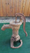 Vintage Cast Iron Hand WATER PUMP in Nice Condition Signed SMART BROCKVILLE