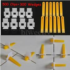 800 Tile Leveling System 500 White Clips + 300 Yellow Wedges Tile Leveler Spacer