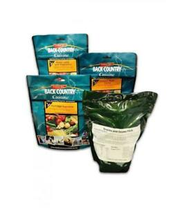 BackCountry Classic 24h/3 Meal Ration Pack for hiking camping-long use by dates