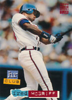 Fred McGriff 1994 Topps Stadium Club #264 Atlanta Braves card