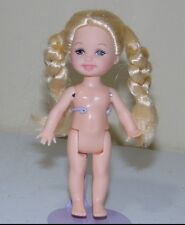 * Nude Barbie Doll Kelly Friends Of The World Holland for OOAK or Play