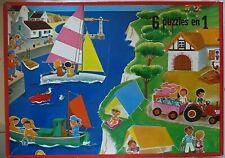 6 puzzle en 1, Willeb - Cavahel Vintage