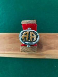 Army Airborne Pilot Crew Members Sterling Silver w/gold inlay Ring