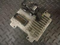 2010 VAUXHALL CORSA D 1.2 PETROL ENGINE CONTROL ECU 55580499 AAZN