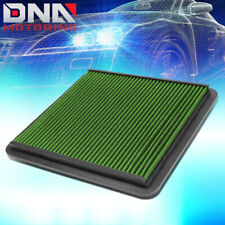 FOR 2008-2017 TOYOTA LAND CRUISER 5.7L GREEN PANEL DROP-IN HIGH FLOW AIR FILTER