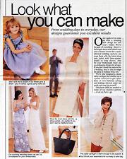 Beautiful WEDDING DRESS EVENING GOWN SHRUG Prima Sewing Pattern 10 12 14 16 18