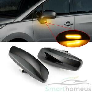 Dynamic LED Side Indicator Repeater Light For Peugeot 207 308 408 3008 5008 RCZ