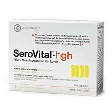 New Sealed Box - SeroVital-hgh 120 Capsules Dietary Supplement