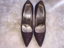 Glitter Dolce&Gabbana Heels 37 Christmas Party Heels D&G Court Stiletto