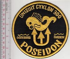 SCUBA Diving Sweden Poseidon Unisuit Cyklon 300 Dry Suit Patch Goteborg, Sweden