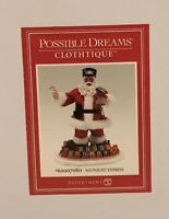 Santa Department 56 Possible Dreams Midnight Express Train 6000708 Clothtique