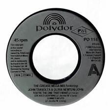 "John Travolta & Olivia Newton-John - The Grease Megamix - 7"" Record Single"