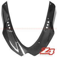 2009-2016 Suzuki GSX-R 1000 Upper Front Nose Headlight Fairing Cowl Carbon Fiber