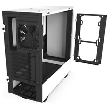 NZXT H510 Tempered Glass Mid Tower ATX Computer CPU Case - CAH510BW1