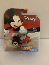 Disney Hotwheels Character Cars Mickey Mouse 1/6 Sealed