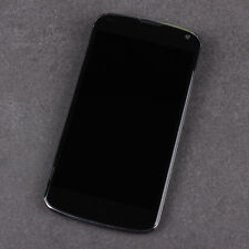 LG NEXUS 4 / E960 - LCD Display Screen + Touchscreen + Rahmen - ORIGINAL