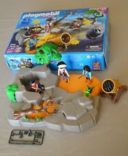 Playmobil Pirate Island Starter Set (3127) Almost Complete