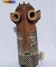 4-DAY SALE Tribal African Art Pende Bapende Spirit Mask Figure Sculpture Statue