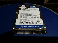 "HARD DISK 250GB Western Digital WD2500BEVE-00A0HT0 - PATA 2.5"" ATA IDE 5400 rpm"