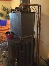 Wasserfuehrender Kamin, Wassertasche, Ofen, Wasserführend,Einbaukamin mit Pumpen