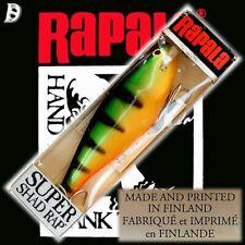 Vintage Rapala Super Shad Rap 14cm P Neu in Box alte Herstellung aus Finnland