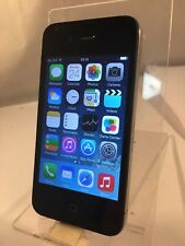 Apple Iphone 4 Black 8GB Unlocked Network Smartphone *Cracked Back
