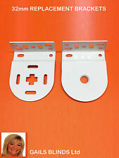 REPLACEMENT  ROLLER BLIND BRACKETS, SPARE PARTS FOR 32 mm TUBING