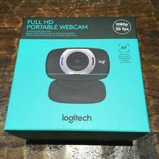 NEW Logitech C615 FULL HD 1080p Webcam w/ Auto Focus and 360 Rotation