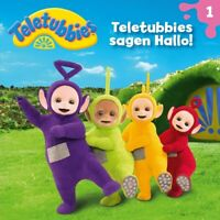 TELETUBBIES - 01: TELETUBBIES SAGEN HALLO!   CD NEW