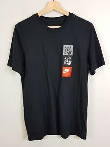 NIKE Mens Size L Air Jordan Legacy AJ4 S/S Tee / T-shirt