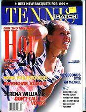 Tennis Match Magazine March 1999 Anna Kournikova EX No ML 032017nonjhe