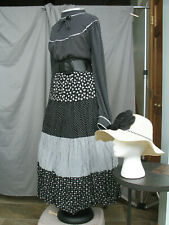 Western Dress Victorian Costume Old West Prairie Civil War Reenactment 1800s
