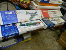 Vintage balsa kit lot by Comet 4 kits  (Be Santa claus for R/C kit builder)