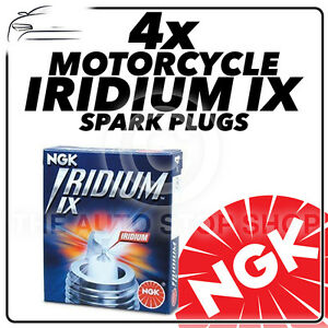 4x NGK Iridium IX Spark Plugs for INDIAN 1850cc Dakota 4 Classic Highway #4085