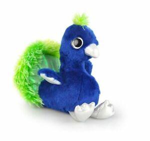 Korimco 22cm Glitz Peacock Kids/Children Animal Soft Plush Stuffed Toy Blue 3y+