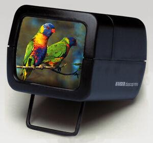 Kaiser DIASCOP MINI 3 Slide Viewer - 3X Magnification -35MM  5X5CM Slides