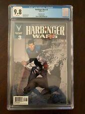 VEI Harbinger Wars 3 Evans 1:20 Variant CGC 9.8 # 3 RARE. Valiant Entertainment