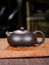 Chinese yixing zisha teapot handmade heijinsha  xi shi teapot 150cc