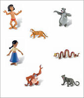 Official Bullyland Disney The Jungle Book Figures Toys Cake Topper Toppers