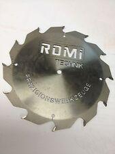 Kreissägeblatt HM Hartmetall 240 x 10 mm Z=12 Sägeblatt Kreissäge Holz gebraucht