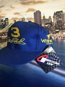 Dale Earnhardt 3 Wrangler SnapBack Hat Brand New With Tags Rare Vintage 1998 Cap