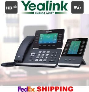 YEALINK SIP-T54W 16-LINE GIGABIT TELEPHONE + EXP50 COLOR EXPANSION MODULE