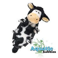 Kong Barnyad Knots Cow Small Squeaks Fun Interactive Play Tug Toss Toy Dog Puppy