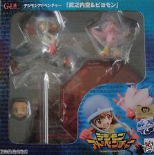 New Megahouse G.E.M Series Digimon Adventure Tachikawa Mimi & Parumon
