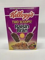 SEALED FULL! ~ 1996 Kellogg's Star Wars Raisin Bran Cereal Box ✨Cosmic Box✨ Rare