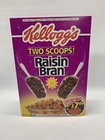 SEALED FULL! ~ 1996 Kellogg's Star Wars Raisin Bran Cereal Box ✨Cosmic Box✨ Rare