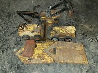Vintage Tonka Nylint Pressed Steel Junkyard Lot Parts Restore