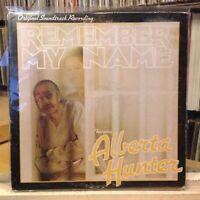 "{OST}~EXC LP~""REMEMBER MY NAME""~Original Soundtrack~{ALBERTA HUNTER}~[1978~CBS]"