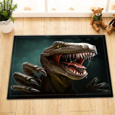 Jurassic Dinosaur Bathroom Mat Rug Non-Slip Home Kitchen Outdoor Carpet 24x16""