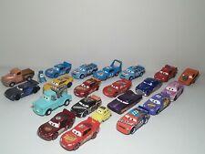 Mixed Lot of 22 Disney Pixar Cars Movie Diecast Vehicle Toys